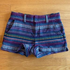 GAP woven multicolored shorts